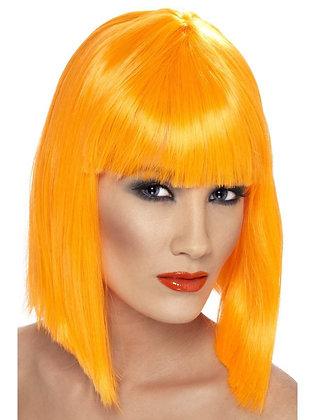 Orange Glam Wig