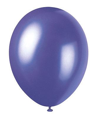 "Purple 11"" Latex Balloons"