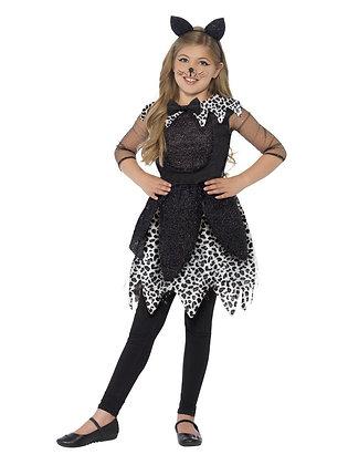 Midnight Cat Costume - Girls