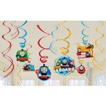 Thomas Swirl Decorations