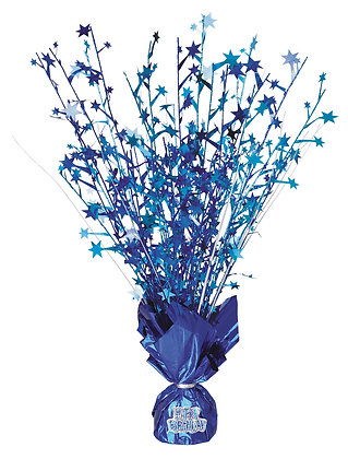 Blue Glitz Table Centrepiece