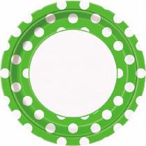 Lime Green Dotty