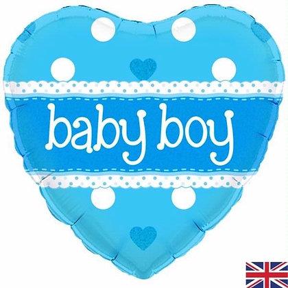 Blue Baby Boy Foil Balloon