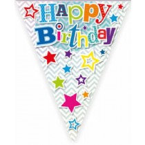 Multi-Colour Happy Birthday Bunting