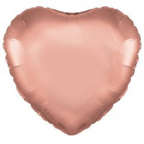 Rose Gold Heart Foil Balloon