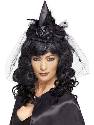 Black Witch Mini Hat