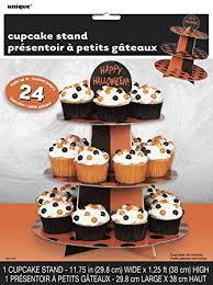 Black and Orange Cupcake Stand