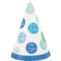 Blue Mini 1st Birthday Hat