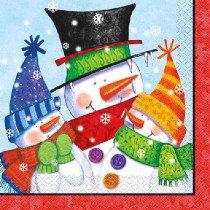Snowman Buddies Napkins