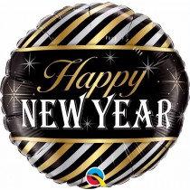 Striped New Year Std Foil