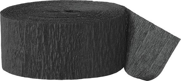 Black Paper Streamer