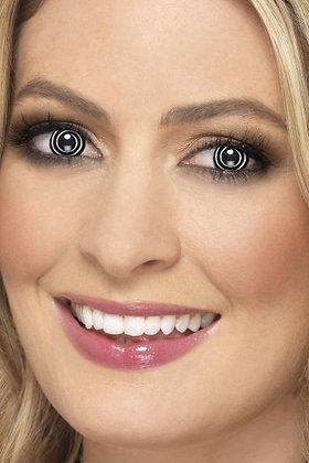 Black Spiral Lenses