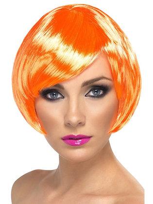Orange Babe Wig