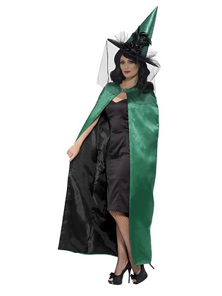 Green Reversible Cape