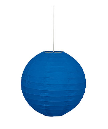 "Royal Blue 10"" Paper Lantern"