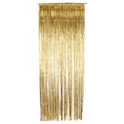 Gold Foil Door Curtain