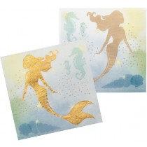 Mermaid Paper Napkins