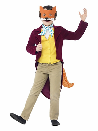 Mr Fox Children's Costume