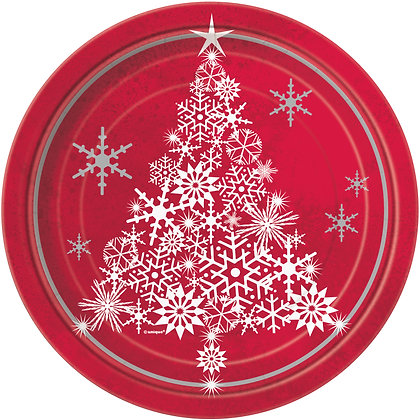 Sparkle Tree Plates