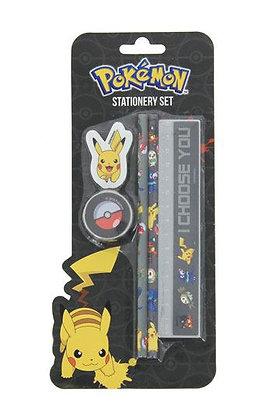 Pokemon Stationary Set