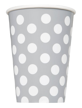 Silver Dotty Cups