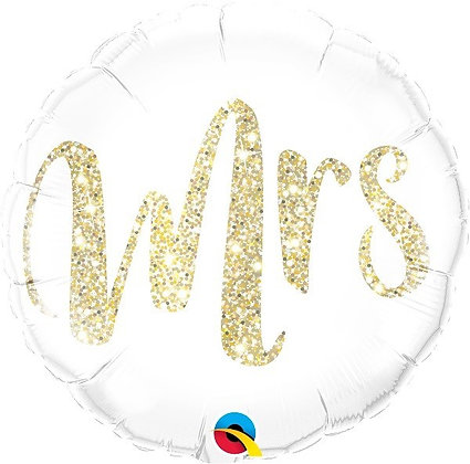 Mrs Foil Balloon