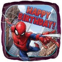 Spiderman Happy Birthday Std Foil Balloon