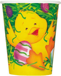 Easter Ducky Paper Cups