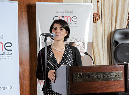 Souad Talsi, l'infatigable activiste