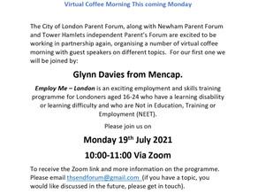 Mencap Employment Support Programme