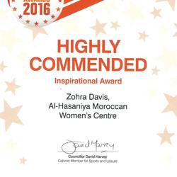 Westminster Community Award
