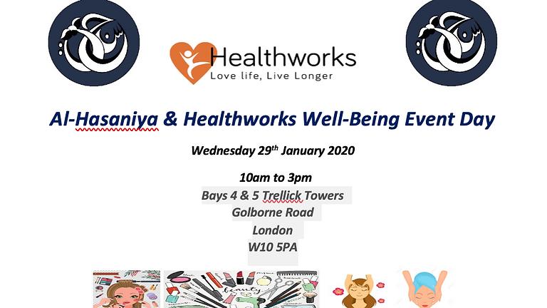 Al-Hasaniya & Healthworks Well-Being Event Day