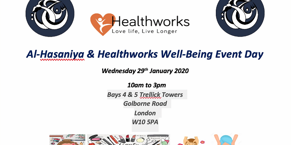Al-Hasaniya & Healthworks Well-Being Event Day