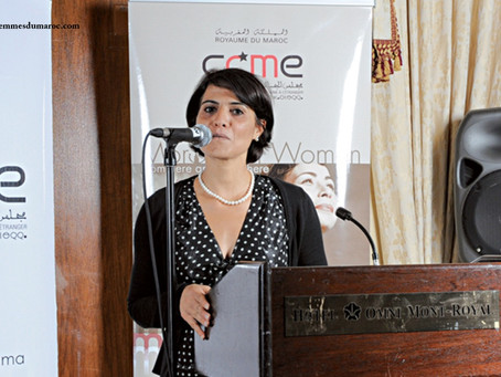Souad Talsi, an activist dedicated to the Moroccan diaspora in England