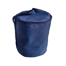 Cylindrical Two Handles Urn Bag