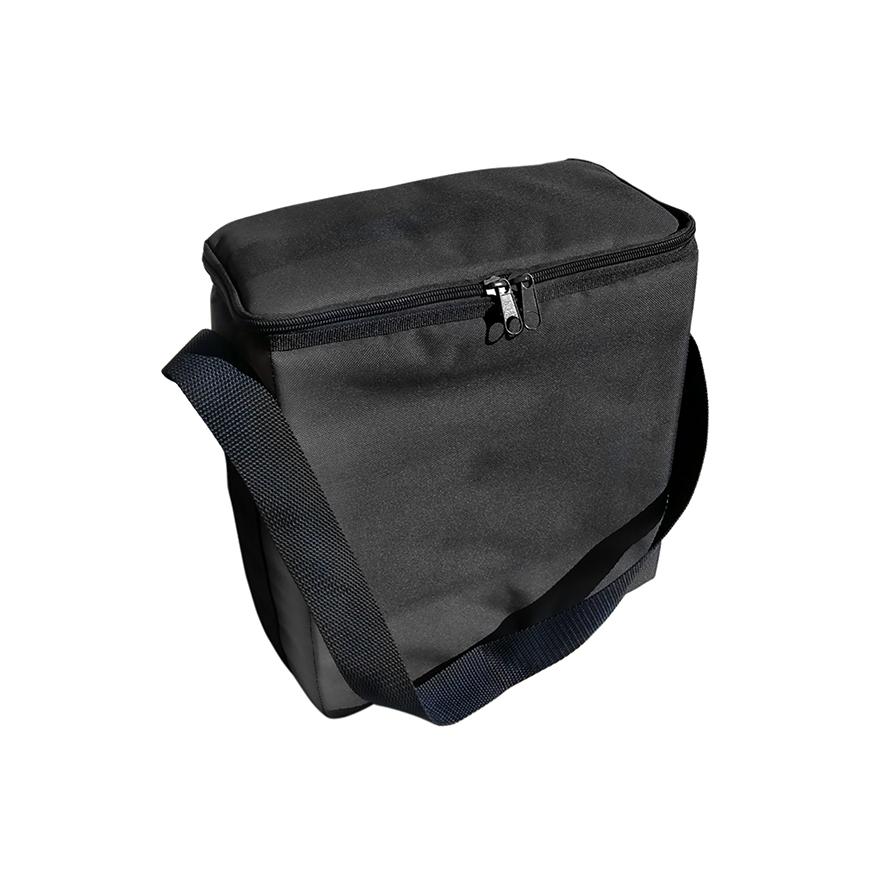 Rectangular Padded Shoulder Strap Urn bag