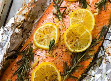 Brain Food: Baked Salmon in Foil