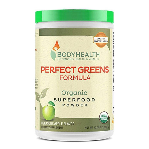Perfect Greens Organic Superfood Powder