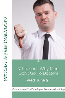 7 Reasons Why Men Don't Go To Doctors.pn