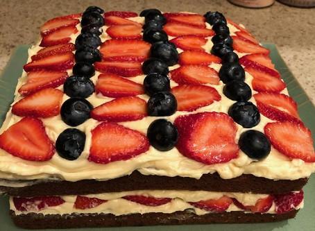 Keto Berry Layer Cake