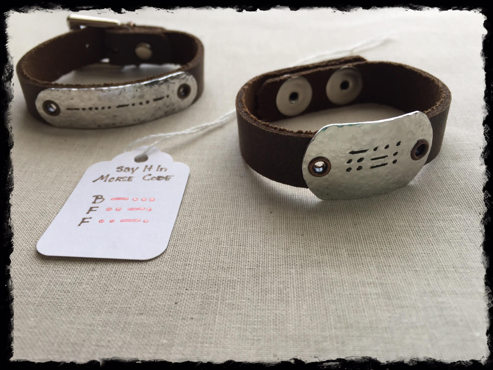 Say It In Morse Code Bracelet- BFF 2 w card front.jpg