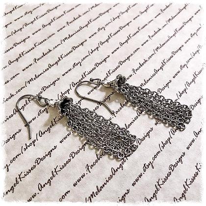 Stainless Tassel Earrings