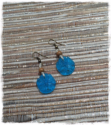 Bohemian Sea Glass Collection- Sea N Sand Earrings