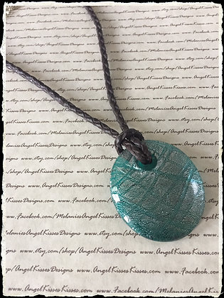 Curious Cord Collection- Turquoise Glass