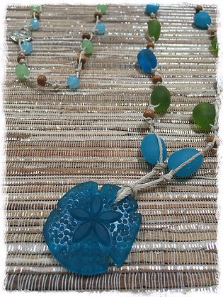 Bohemian Sea Glass Collection- Stormy Sea