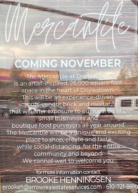 Mercantile coming November 2020