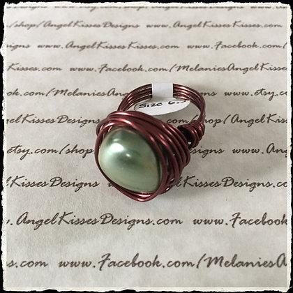 Pearl Nested Ring- Irish Eye
