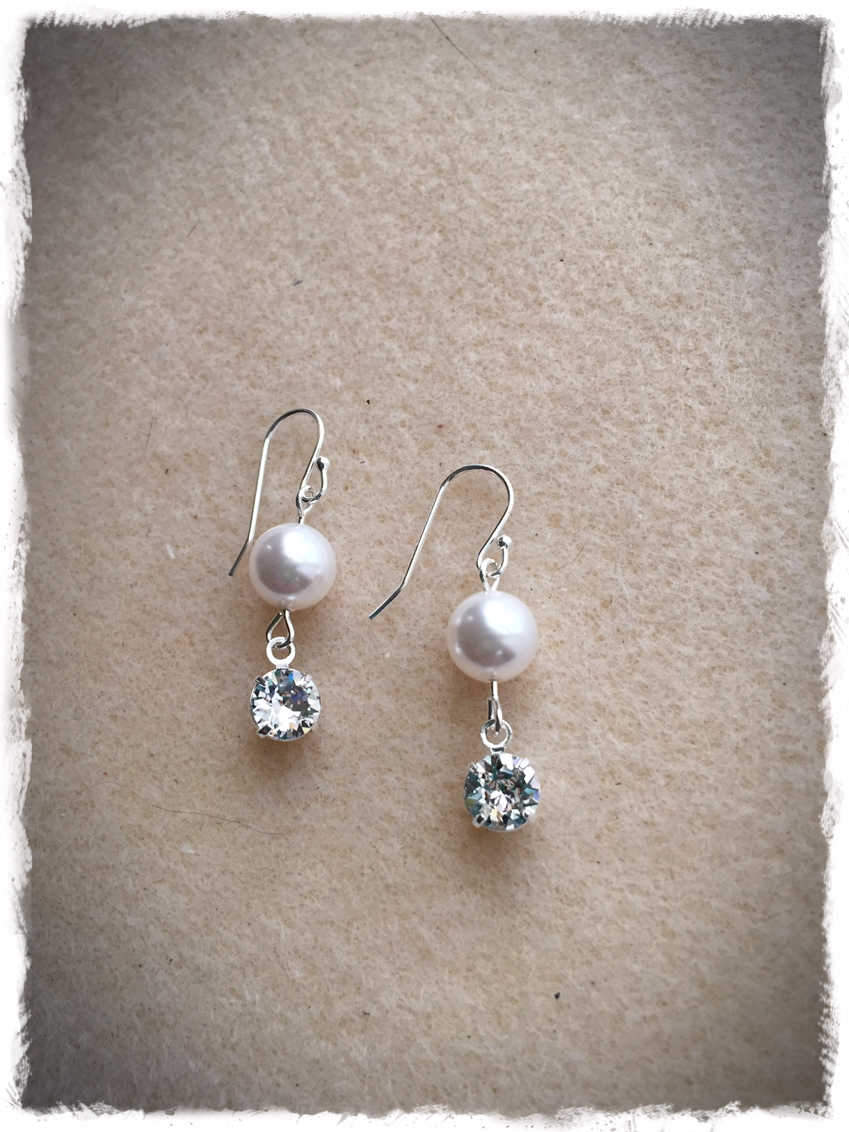 Swarovski Pearl Dangle