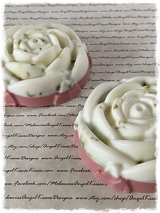 Vanilla Rose Exfoliate Soap with Plant Seed Paper
