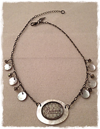 Believe Shell Necklace